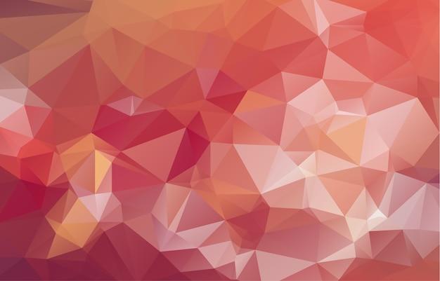 幾何学的な三角形の低ポリゴン折り紙スタイル