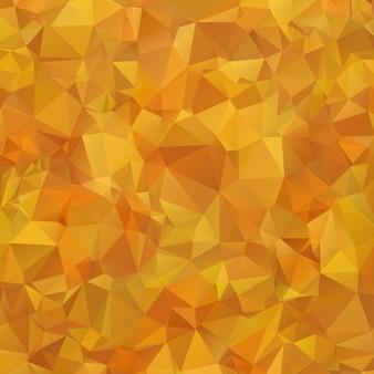 抽象的な多色オレンジ、茶色のグラデーション幾何学模様。