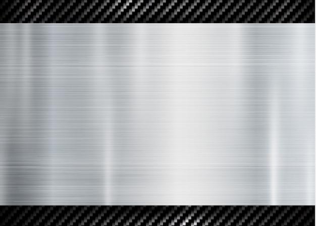 カーボンケブラーテクスチャの金属フレームの概要