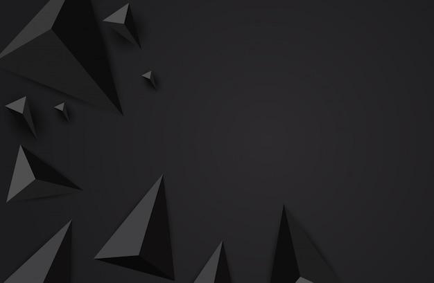 抽象的な三角形の背景。