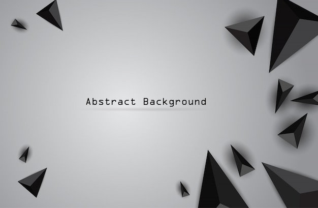 ベクトル色三角形と抽象的な幾何学的なバナー。