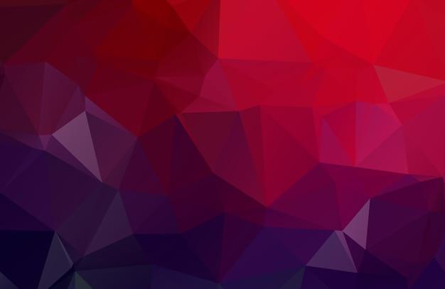 抽象的な多角形のベクトルの背景。カラフルな幾何学的なベクトル図