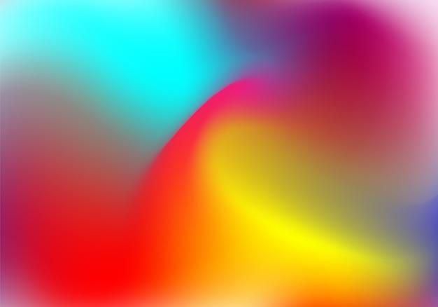 ホログラフィックホイルを用いたプラスチックグラデーション背景。