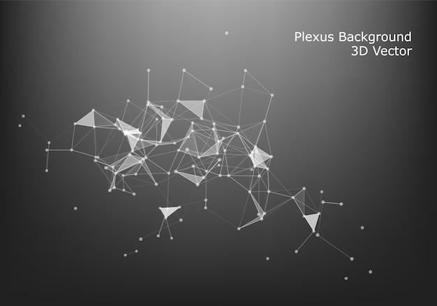 抽象的なインターネット接続と技術グラフィックデザイン。