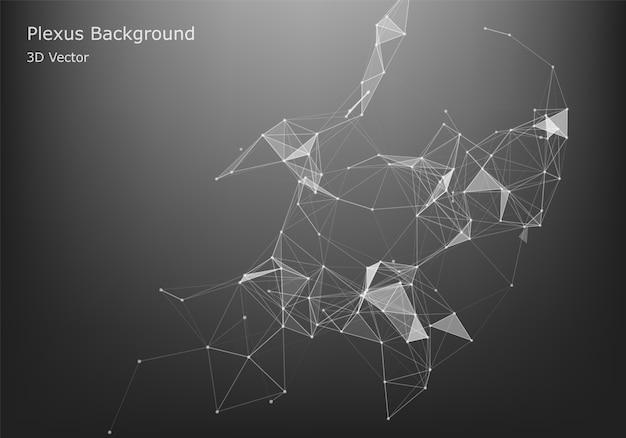 抽象的なインターネット接続と技術グラフィックデザイン。抽象的なインターネット接続と技術グラフィックデザイン。