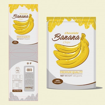 Дизайн упаковки закусок