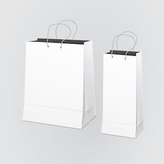 Чистый бумажный пакет