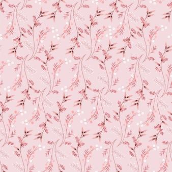 Ретро сладкий рисованной луг цветочный узор бесшовные цветочные текстуры.