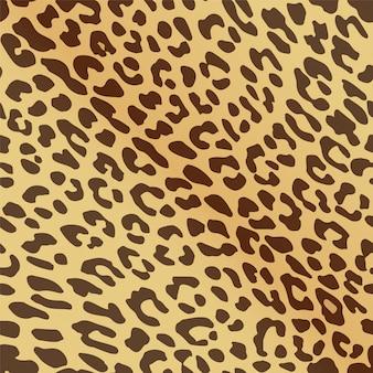 Бесшовные шаблон леопардовым принтом.