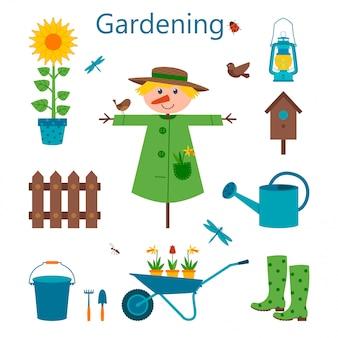 Набор иконок сады