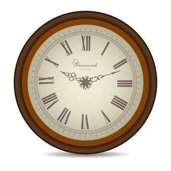 Старинные часы для лица.