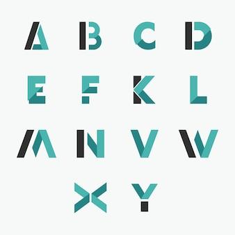 頭文字のロゴのテンプレート