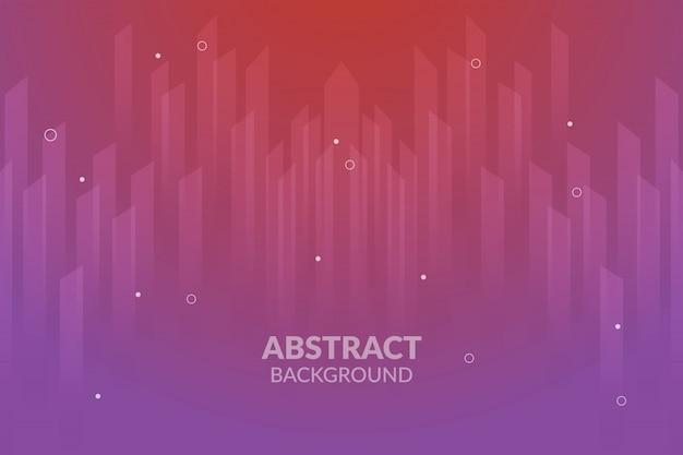 紫のランディングページのグラデーションの背景