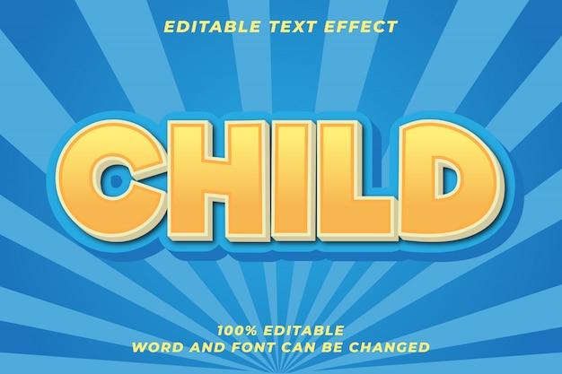 Эффект мультяшного стиля текста