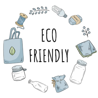 Экологичный венок без пластиковых предметов