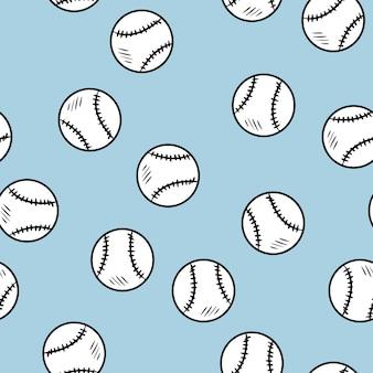 野球のシームレスパターン
