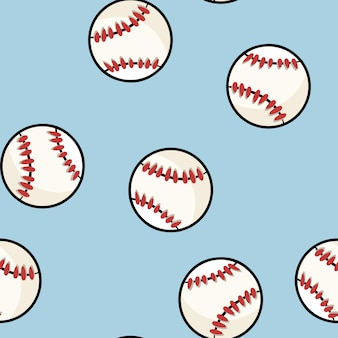 Бейсбол бесшовные модели