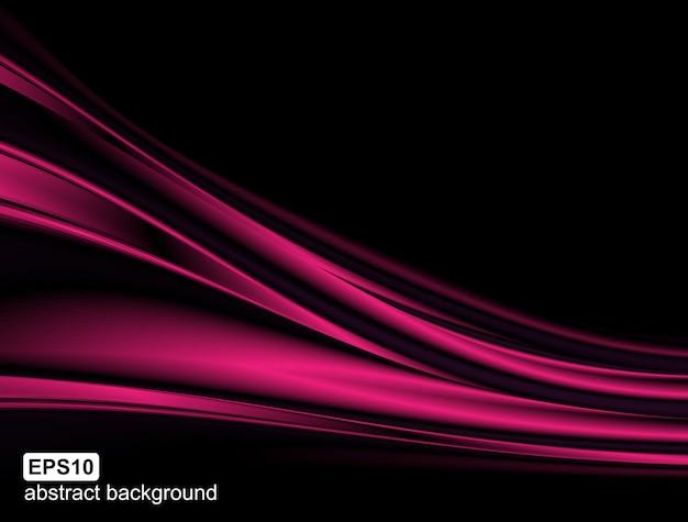 Фон с абстрактной световой волной.