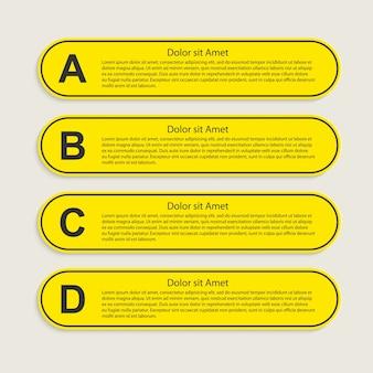 Инфографика элементы для бизнес-презентаций.