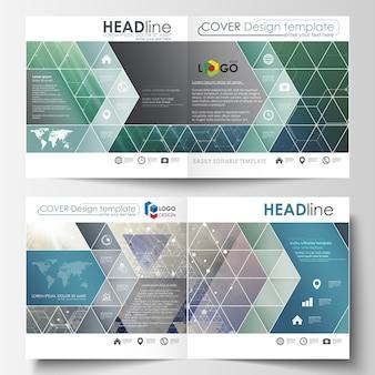 Бизнес-шаблоны для квадратного дизайна