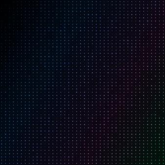 Абстрактный синий цвет неоновых точек