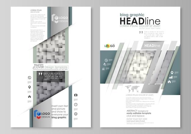 Блог графических бизнес-шаблонов