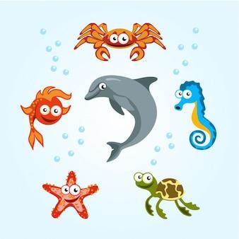 Морские создания