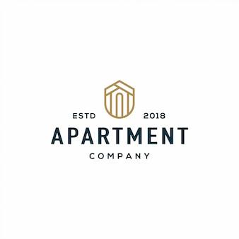アパートのロゴ