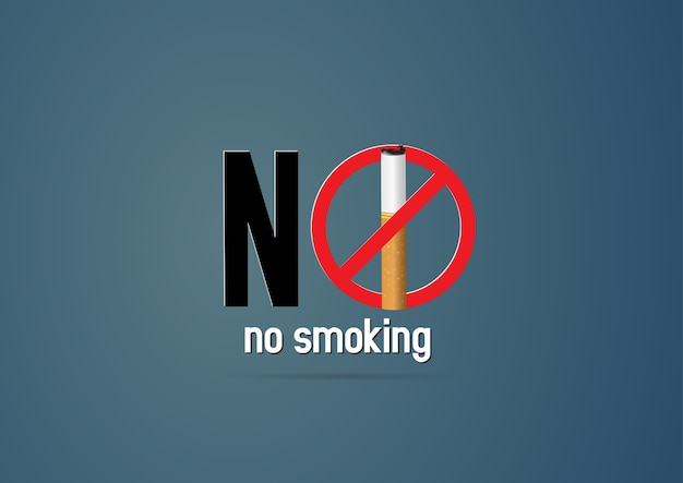 コンセプトのない喫煙の日の世界。