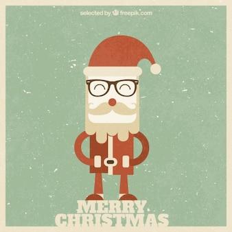 レトロなクリスマスの文字