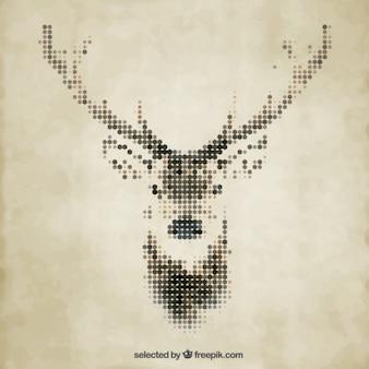 ポリゴン鹿