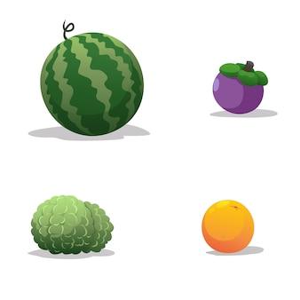 Азиатские фрукты на вкус сладкие и вкусные.