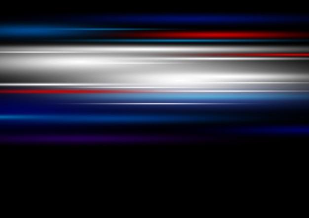 高速テクノロジー軽い動きの背景