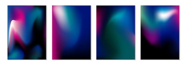 抽象的な色の流れの背景