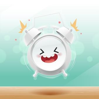 目覚まし時計は朝のボケで幸せ