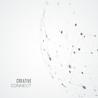 複合線とドット、連結科学