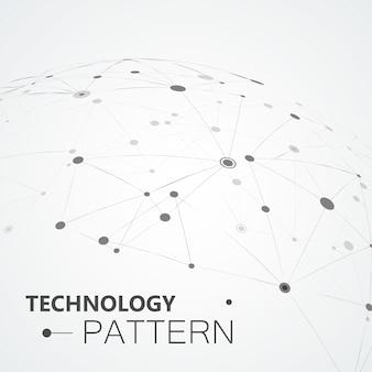 複合線と点、接続された科学