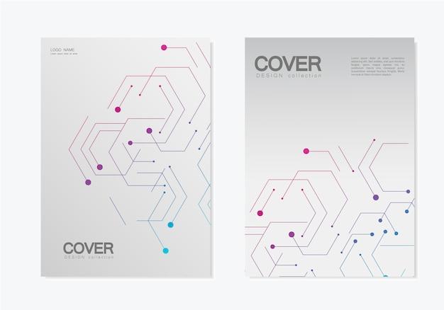 Абстрактные геометрические обложки