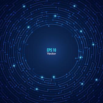 Круг электронные