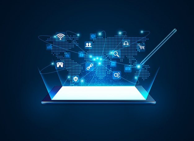 タブレット通信技術