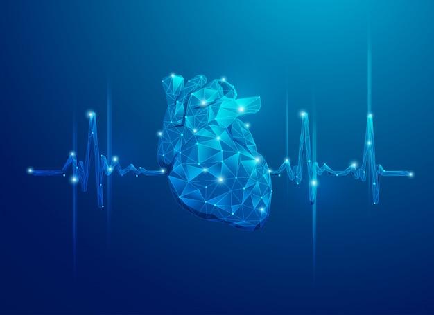Сердце многоугольника и пульс