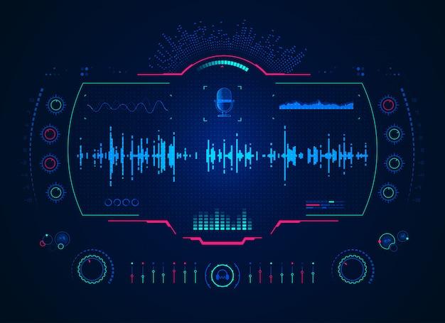 Интерфейс звукового микшера