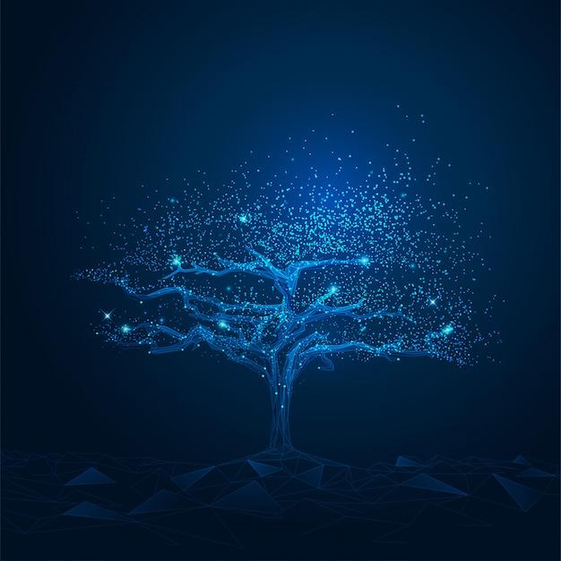 Кибер-дерево, концепция футуристической технологии