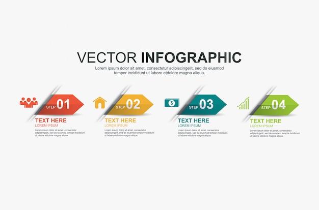 Хронология инфографика элементы дизайна
