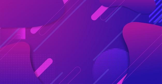 Современный абстрактный фиолетовый геометрический фон