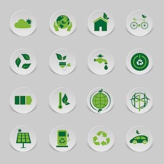 Значок экологический