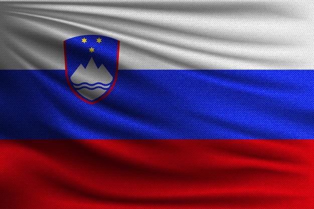 スロベニアの国旗。