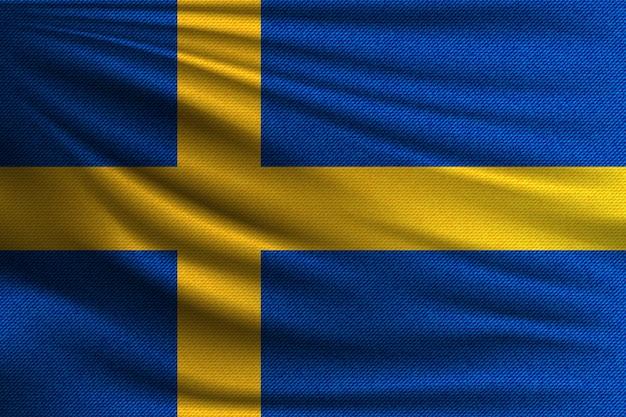 Государственный флаг швеции.