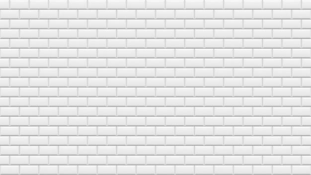 白いレンガの壁。白い石の背景。