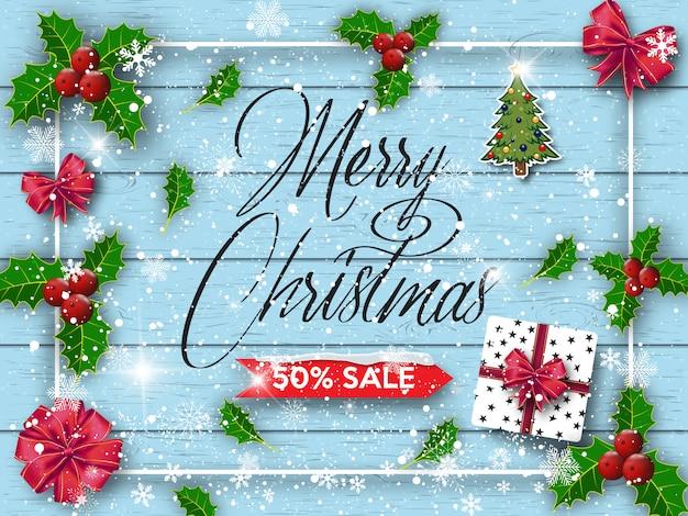 ハッピーニューイヤーとメリークリスマス。